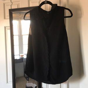 Ann Taylor tank blouse Women's M
